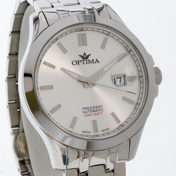 """Optima - President - Swiss automatic Limited Edition Watch- """"NO RESERVE PRICE"""" - OSA463-SS-1 - Homme - 2011-aujourd'hui"""