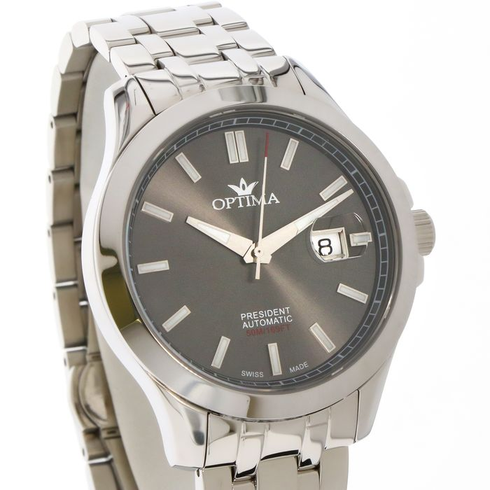 """Optima - President - Swiss automatic Limited Edition Watch- """"NO RESERVE PRICE"""" - OSA463-SS-2 - Uomo - 2011-presente"""