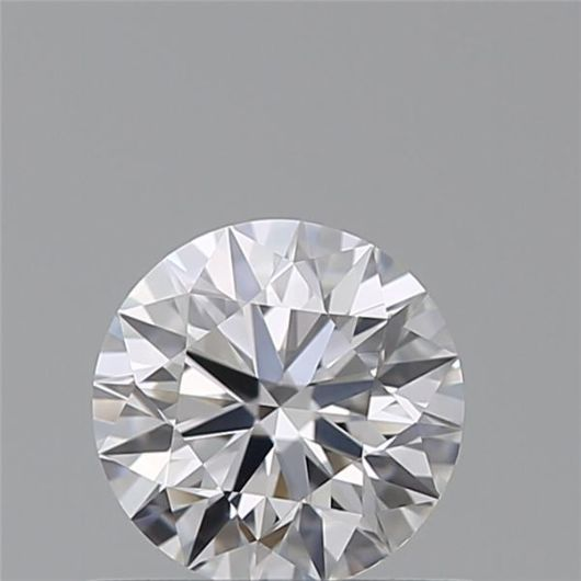 1 pcs Diamante - 0.51 ct - Brillante - D (incoloro) - VVS1