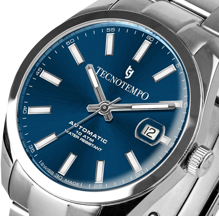 """Tecnotempo - """"NO RESERVE PRICE"""" - Swiss Made - Limited Edition 500PCS - - TT.100.BL (Blue) - Heren - 2021"""