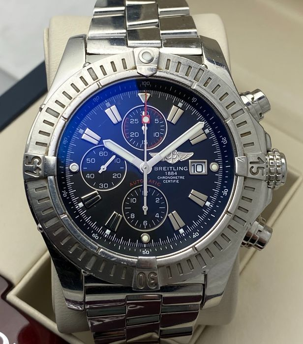 Breitling - Super Avenger Chronograph Automatic - A13370 - Heren - 2011-heden