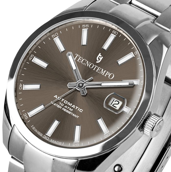 """Tecnotempo - """"NO RESERVE PRICE"""" - Swiss Made - Limited Edition  - - TT.100.G (Grey) - Uomo - 2021"""