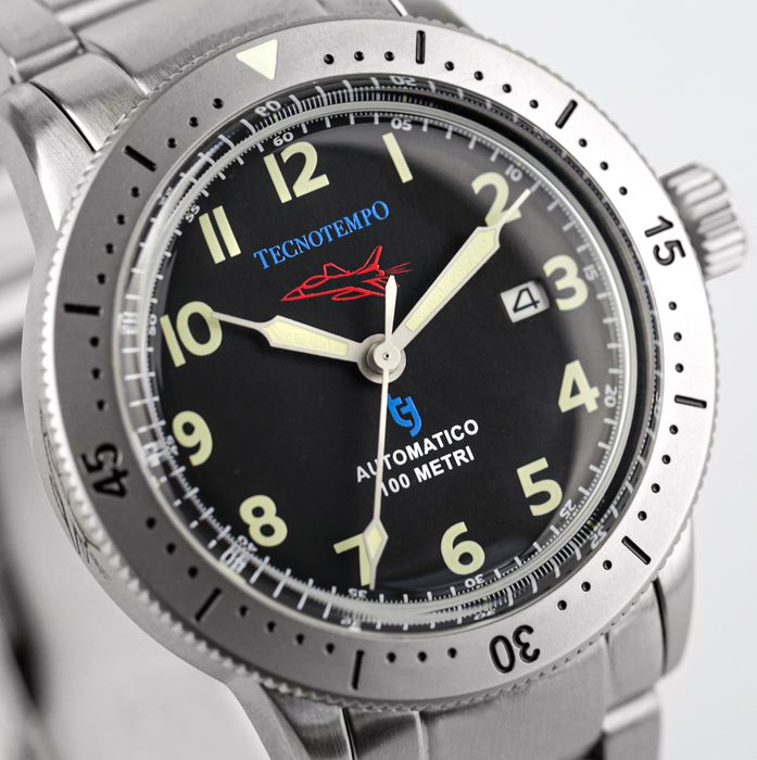 """Tecnotempo - - NO RESERVE PRICE - - """"Fighter Pilot Special Edition"""" - Limited Edition 100PCS - - TT.100.AAA - Herren - 2021"""