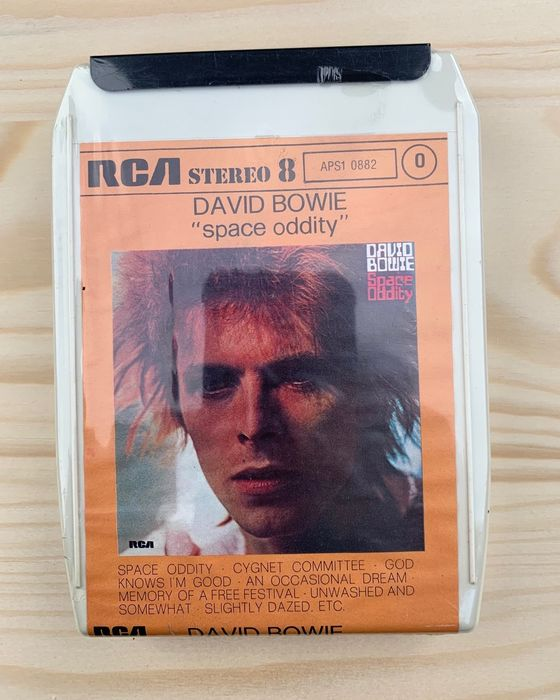 David Bowie - Space Oddity [8-Track Cartridge] - Cassette - 1972