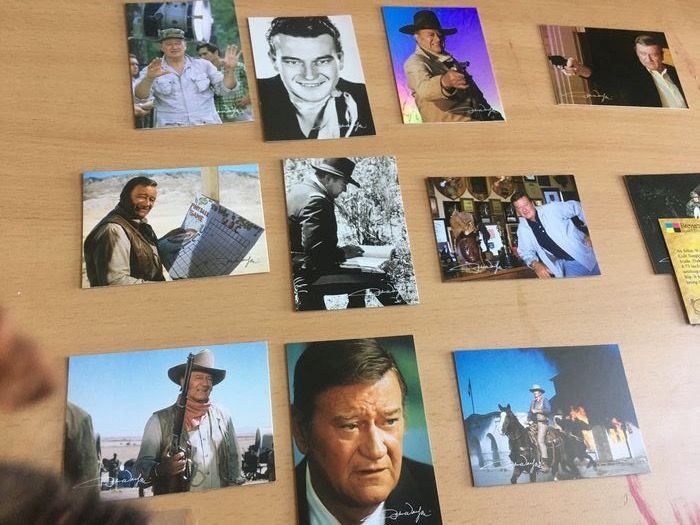 John Wayne - Vintage, rare Complete Collection of 133 Collectible Cards (1978) - Breygent Edition