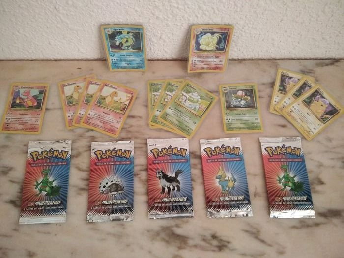 WOTC collection / ex ruby Booster and base set cards - Trading card - 1999