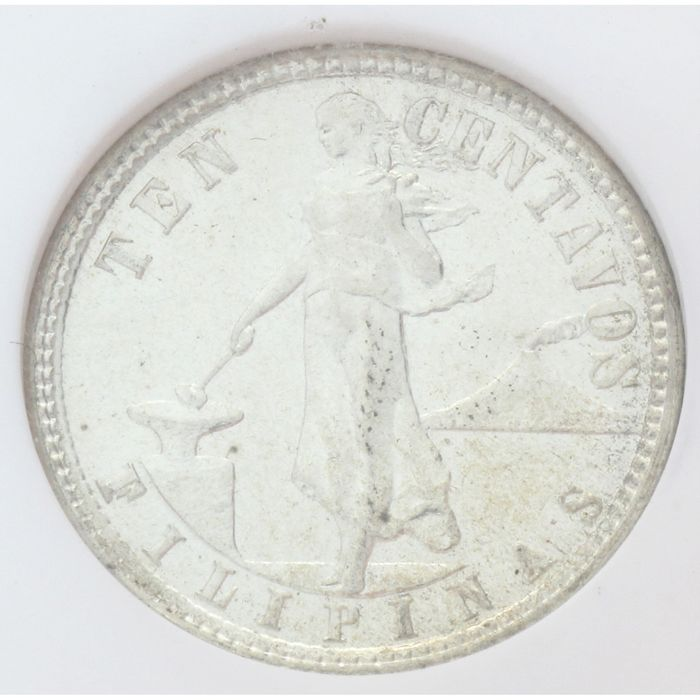 Philippines. 10 Cents 1938 - NGC MS63