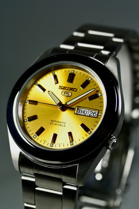 Seiko - Automatic 21 Jewels Gold plated crown - NEW CAL. 7S26 - Herren - 2011-heute