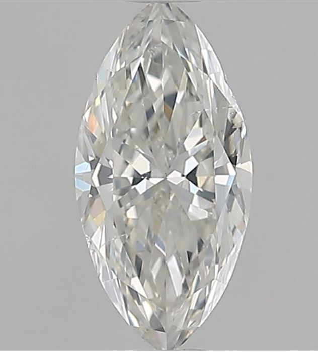 1 pcs Diamante - 0.50 ct - Marquise - I - SI2 VG VG GIA Certified * No Reserve Price *