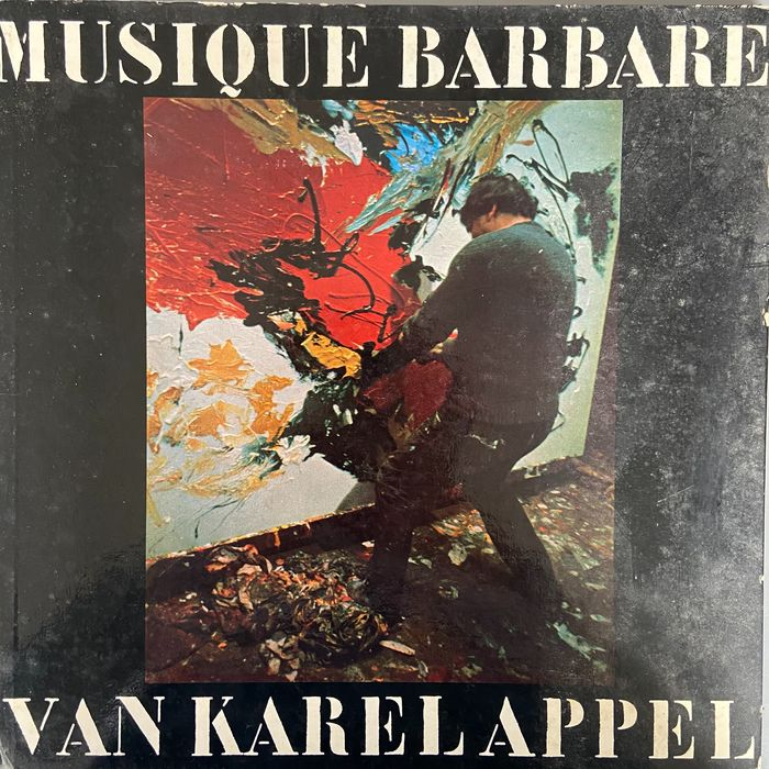 Karel Appel - Mystique Barbara - LP Album - 1963/1963