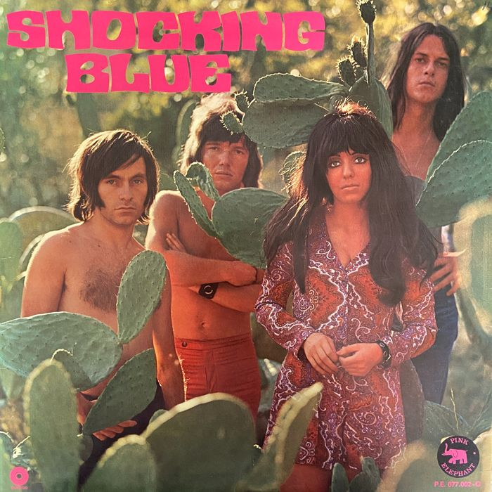 Shocking Blue - Scorpio's Dance [+ Poster, Pink Elephant Pressing] - LP Album - 1970