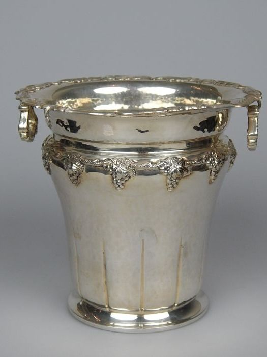 Wine cooler - Silver - Spain - Mid 20th century