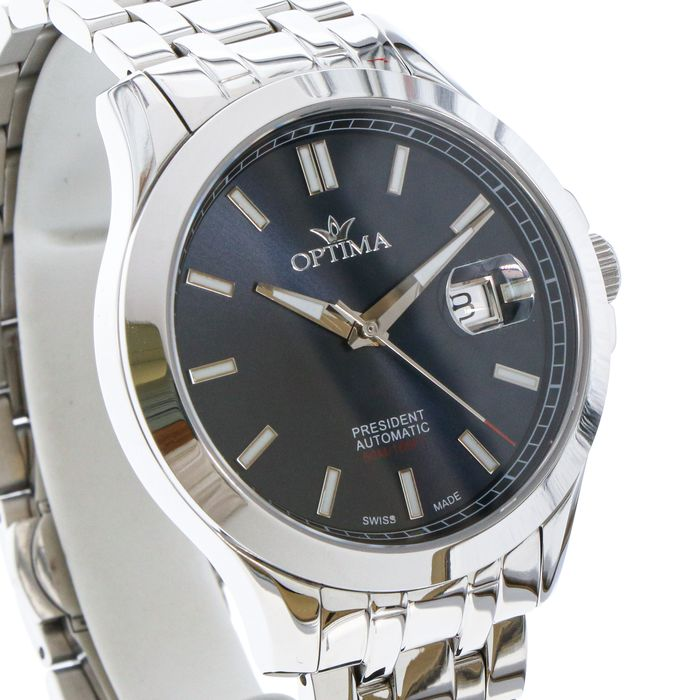 """Optima - President - Swiss automatic Limited Edition Watch- """"NO RESERVE PRICE"""" - OSA463-SS-9 - Homme - 2011-aujourd'hui"""