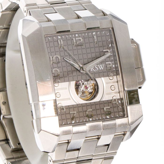 """RSW - Crossroad automatic Open Heart - RSW7110-SS-2 """"NO RESERVE PRICE"""" - Heren - 2011-heden"""