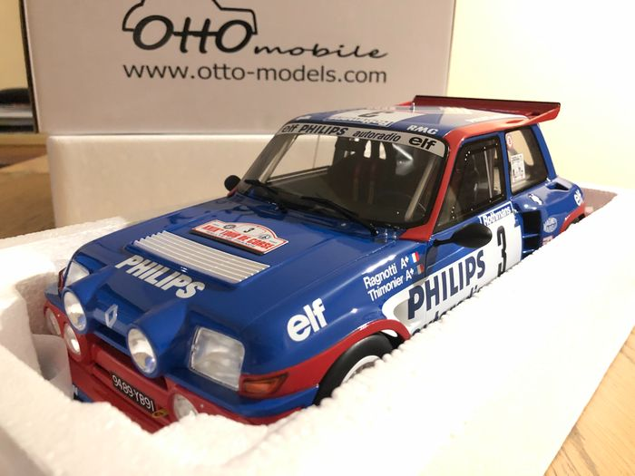 Otto Mobile - 1:12 - R5 Tour de corse - Miniature in perfect condition without flaw
