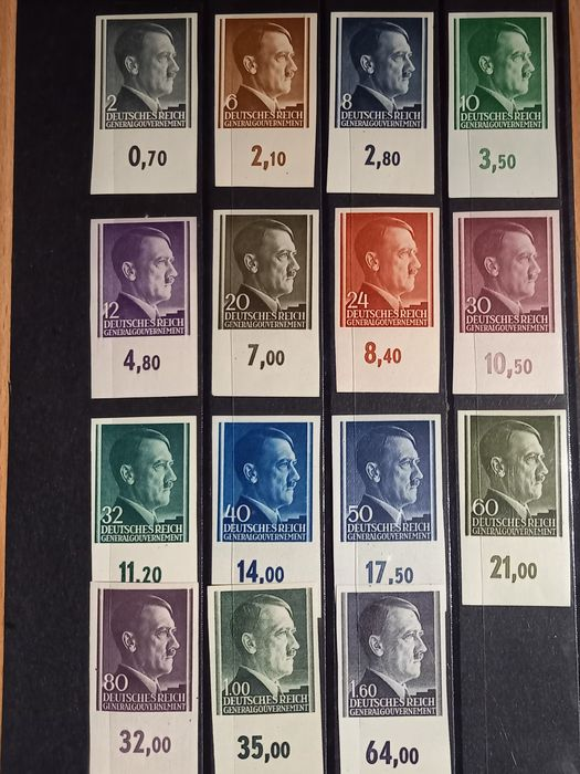 Europa 1938/1944 - Third Reich – occupation issues, with Jersey - Michel