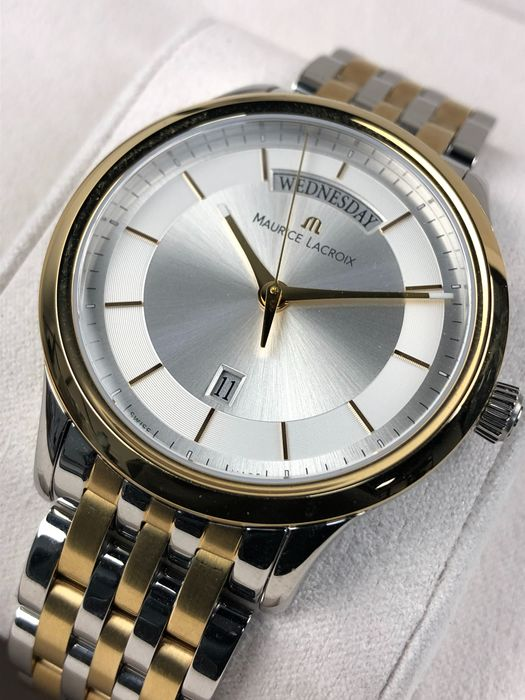 Maurice Lacroix - Les Classiques Day-Date Gold Steel - LC1227-pvy13-130 - Hombre - 2011 - actualidad
