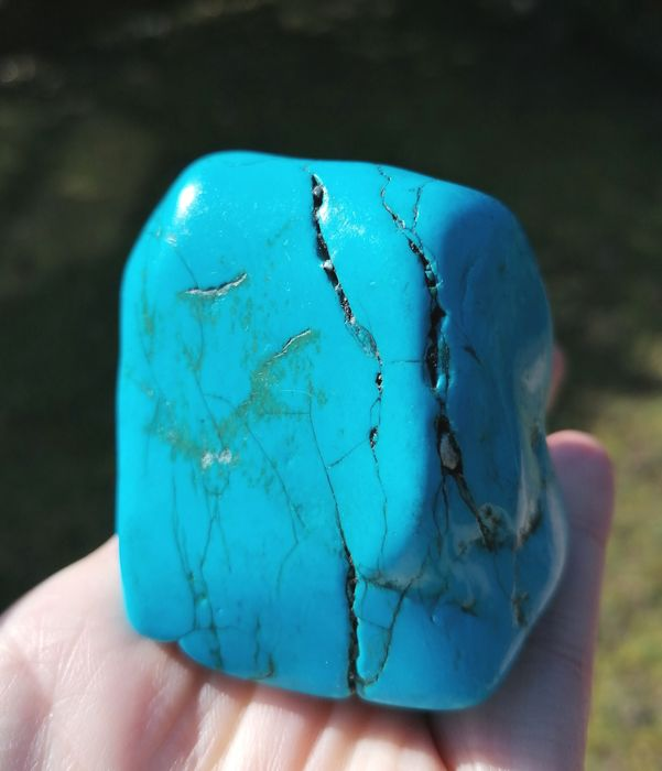 Turquoise Nugget - 50×65×55 mm - 200 g - (1)