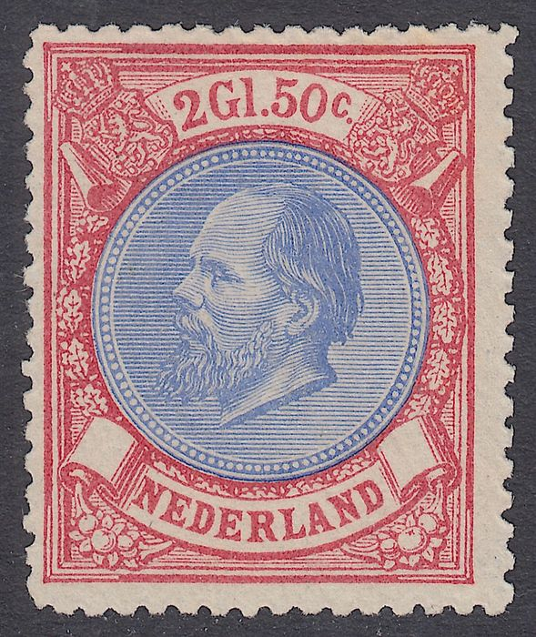Netherlands 1872 - King Willem III - NVPH 29