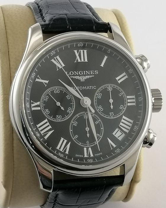 Longines - Longines Master Collection Chronograph - L2.693.4.51.7 - Heren - 2011-heden
