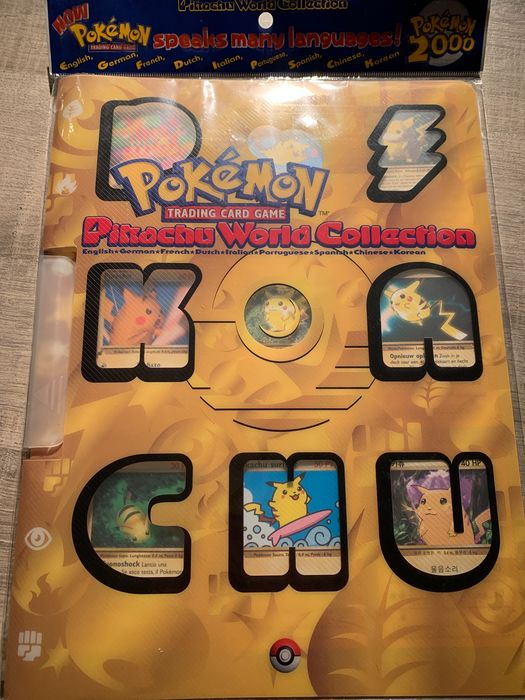 Wizards of The Coast - Complete album Pikachu World Collections compleet & sealed - 2000