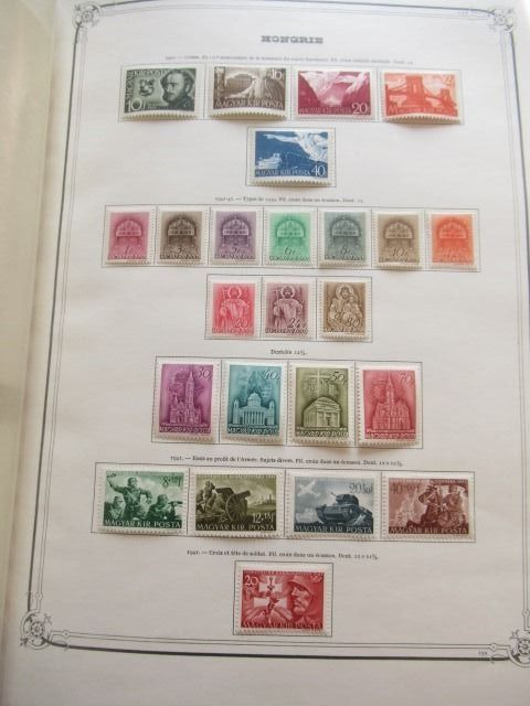 Ungheria 1941/1965 - Almost complete collection of stamps