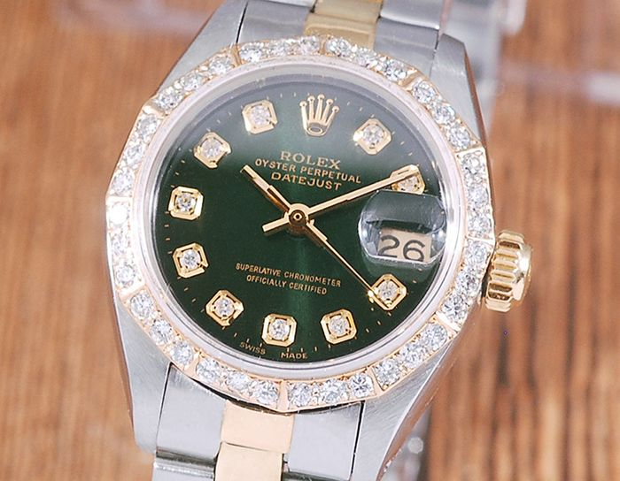 Rolex - Oyster Perpetual Datejust - 6917 - Femme - 1980-1989