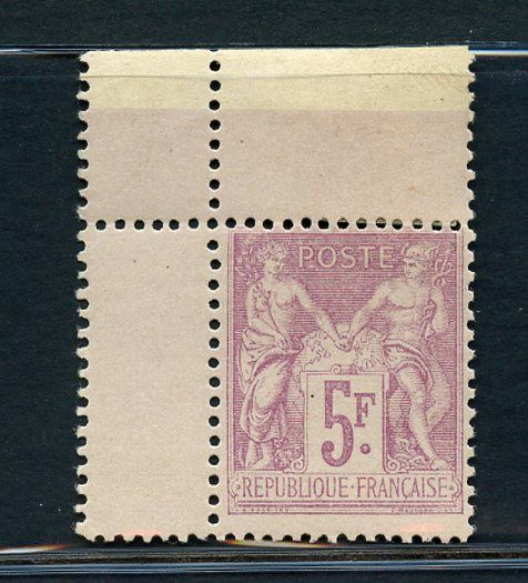 Frankrijk 1879 - Peace and Trade - 5 Fr. lilac - 2nd type - Yvert N 95a