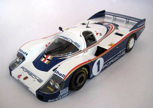 Solido - 1:18 - Porsche 956 LH #1 J.Ickx/D.Bell Winners Le Mans 1982 - Rothmans Decal Included - Mint Boxed - Limited Edition