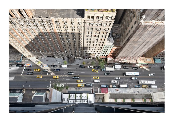 André Lichtenberg - NY, 57th St West - LARGE SCALE