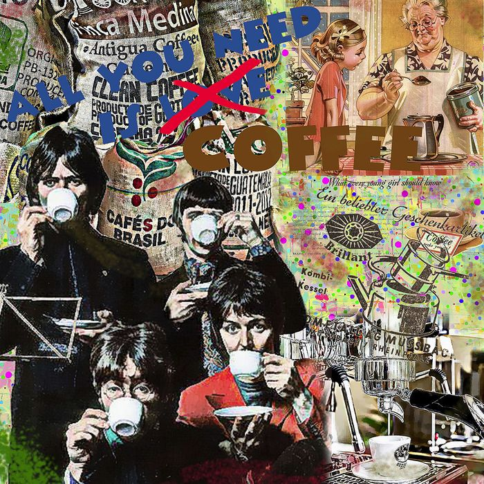 """Original LUC BEST - """" All you need is coffee """" Limited Edition"""