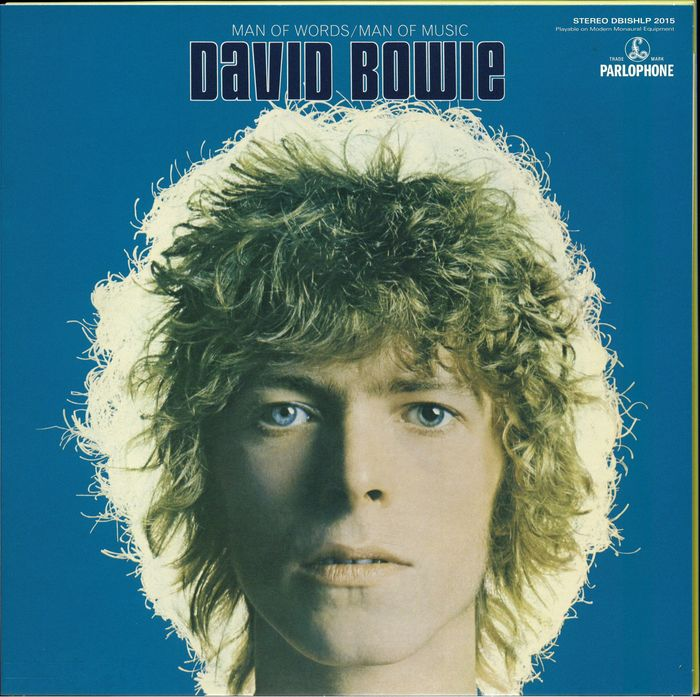 """David Bowie - """"Man Of Words / Man Of Music"""" limited edition of 1.500 copies on blue vinyl - Limited edition, LP Album - 2015/2015"""