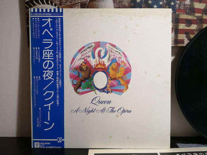 Queen - A Night At The Opera [Japanese Pressing] - LP Album - 1975
