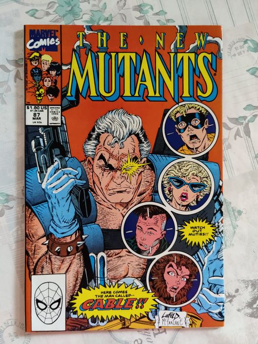 New Mutants 87 - Very High Grade 1st Cable - Geniet - Eerste druk - (1990)