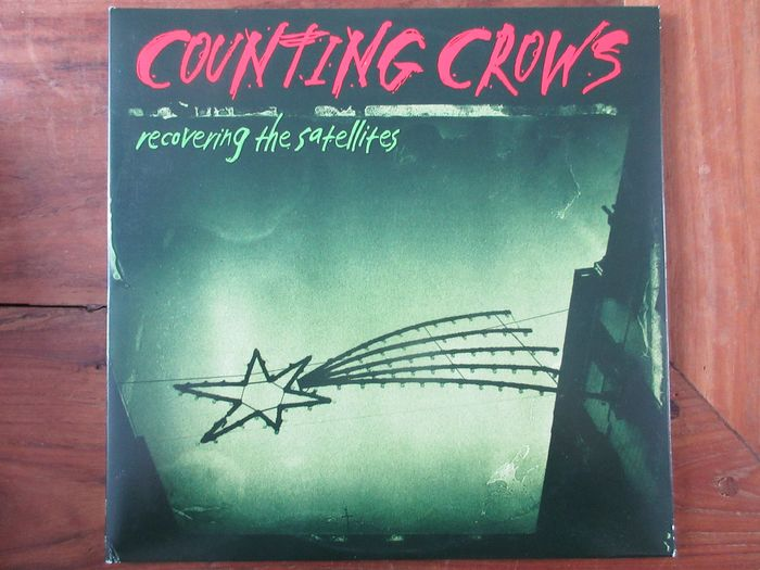 Counting Crows - Recovering The Satellites (Green vinyl) - 2x LP Album (Doppelalbum) - 2016/2016