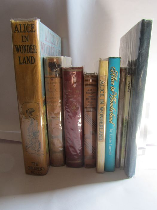 Lewis Carroll - Lot with 9 books - 1895/1998