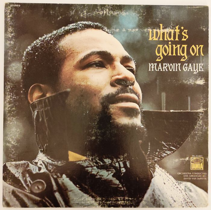 Marvin Gaye - What's Going On [1st U.S. Pressing] - LP Album - 1971