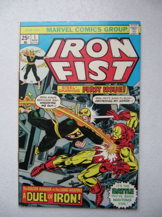 Iron Fist - Complete series, high quality, 1st Sabretooth. With Iron man / Captain America / X-men - Geniet - (1975/1977)