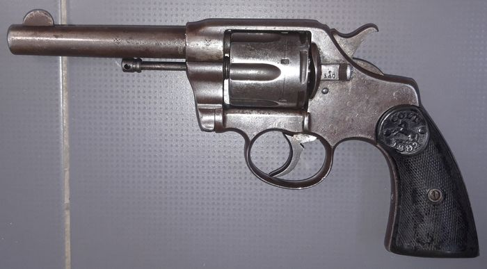 United States of America - 19th Century - Mid to Late - Colt - Model 1882 - Double action (DA) - Centerfire - Revolver - .38 Special cal