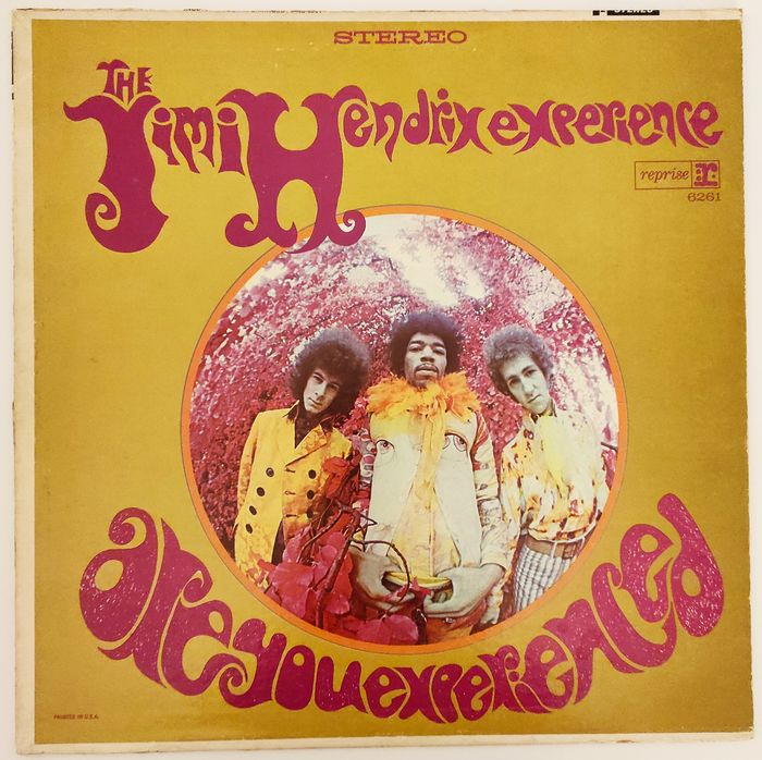 Jimi Hendrix Experience - Are You Experienced [1st U.S. Stereo Pressing] - LP Album - 1967