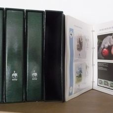 Mundo 1983/1995 - WWF, collection including FDCs in five original albums and slipcase