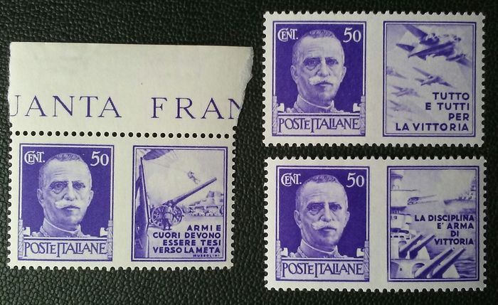Europa - Beautiful selection of stamps, mostly from Italy, Saar and France