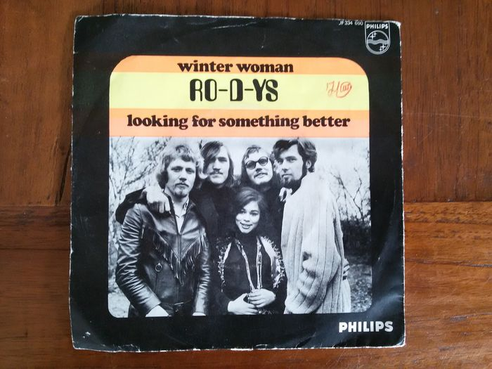 Ro-D-Ys - Winter Woman / Looking For Something Better - 45 rpm Single - 1969