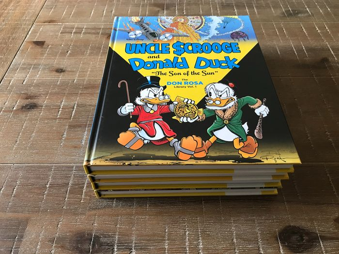 Uncle Scrooge and Donald Duck - The Don Rosa Library - deel 1 t/m 4 - Cartonné - EO - (2014/2015)
