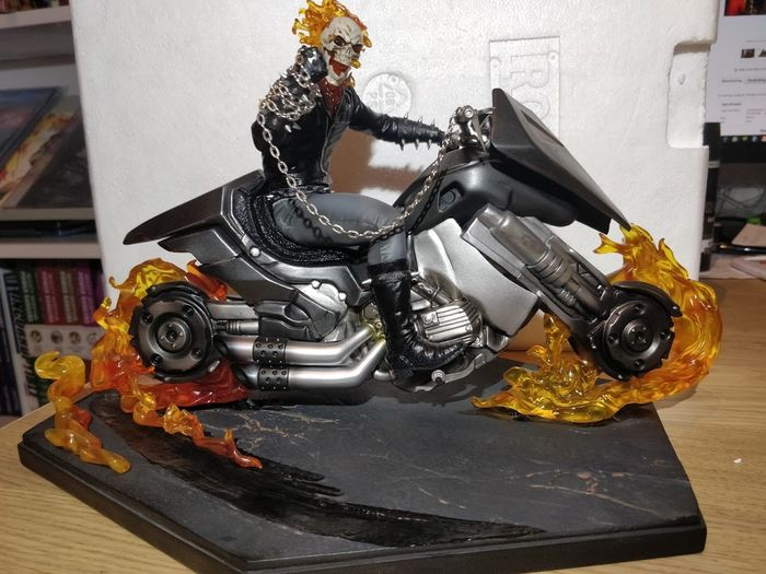 Ghost Rider - Statue Scale 1:10 Iron Studios Sideshow 2019 SDCC Exclusive - (2019)