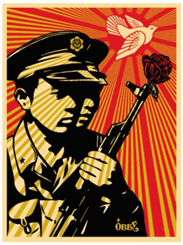 Shepard Fairey (OBEY) - Chinese Soldiers