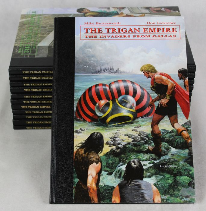 Don Lawrence - The Trigan Empire collection - 12x luxe hc + 2x prentje - complete serie - EO - (2004/2009)