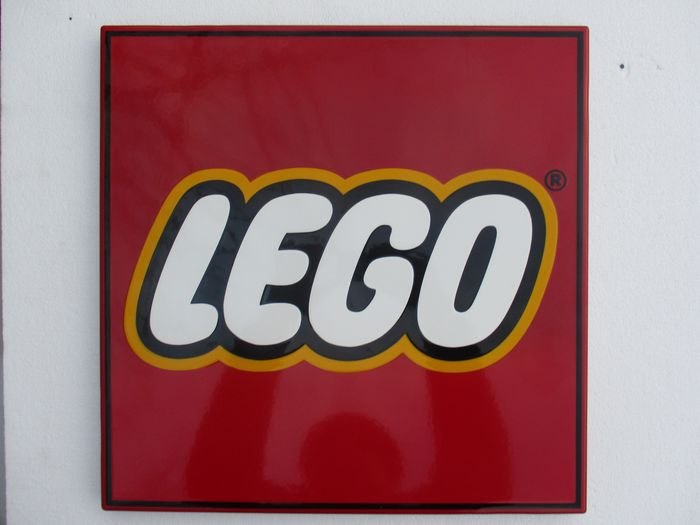 Lego - Bord - Staal, porselein email