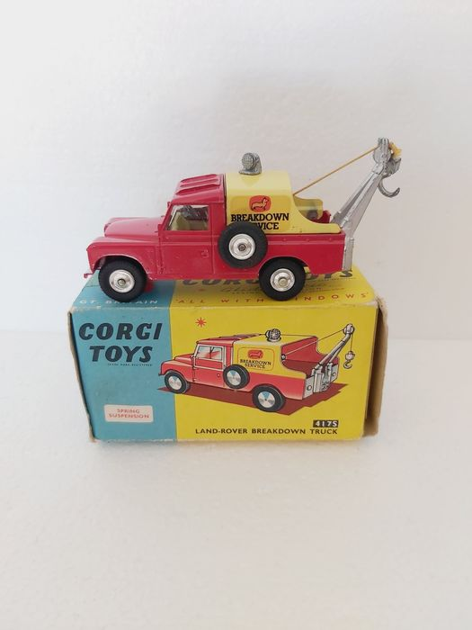 Corgi - 1:43 - Land-Rover breakdown truck - 4175