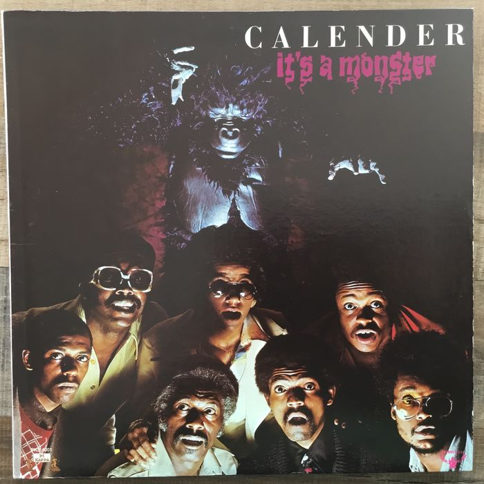Calender ( Funk) - It's A Monster - LP Album - 1976/1976